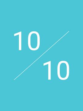 Qualitätsfaktor 10 von 10