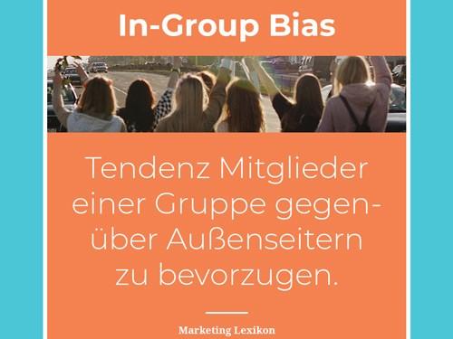In-Group Bias - Marketing Lexikon