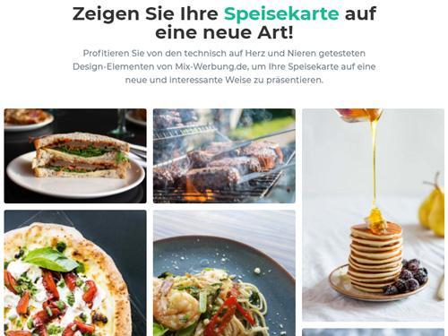 Restaurant Website erstellen lassen
