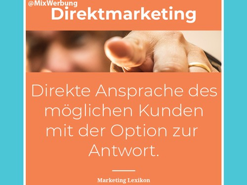 Was ist Direktmarketing - Definition & Beispiele